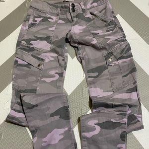 Jolt Multicolor Camo Skinny Jeans